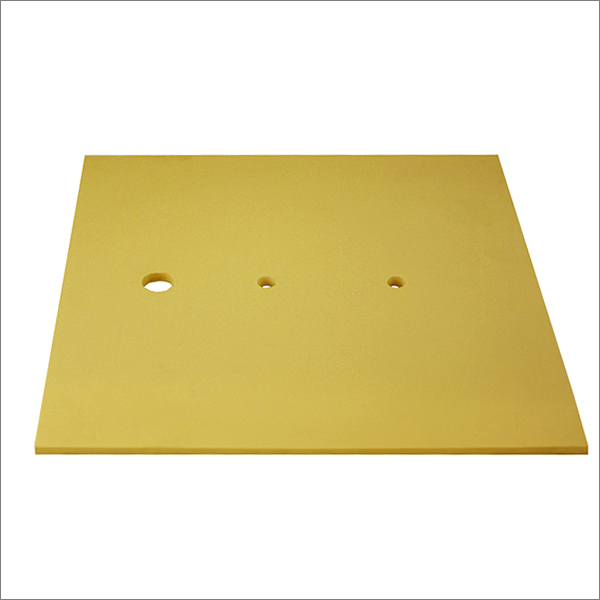 RUBBER INVESTING PAD