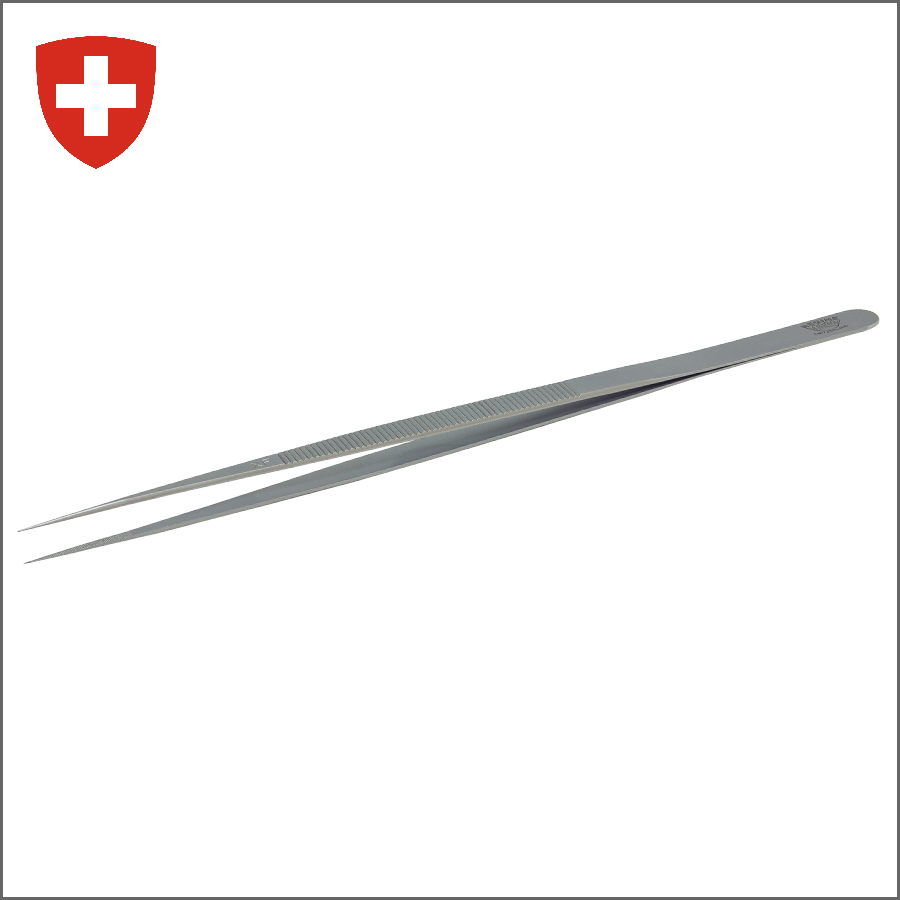 REGINE  STAINLESS STEEL DIAMOND TWEEZERS / XF