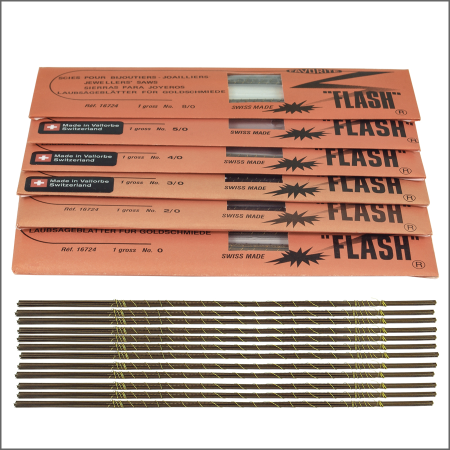 Flash SAW BLADES FLASH  0-8/0