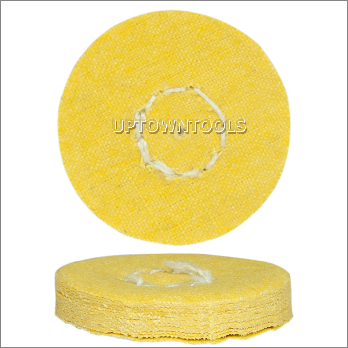 Miniature Yellow Chemkote Buff  1 inch x 16 Ply