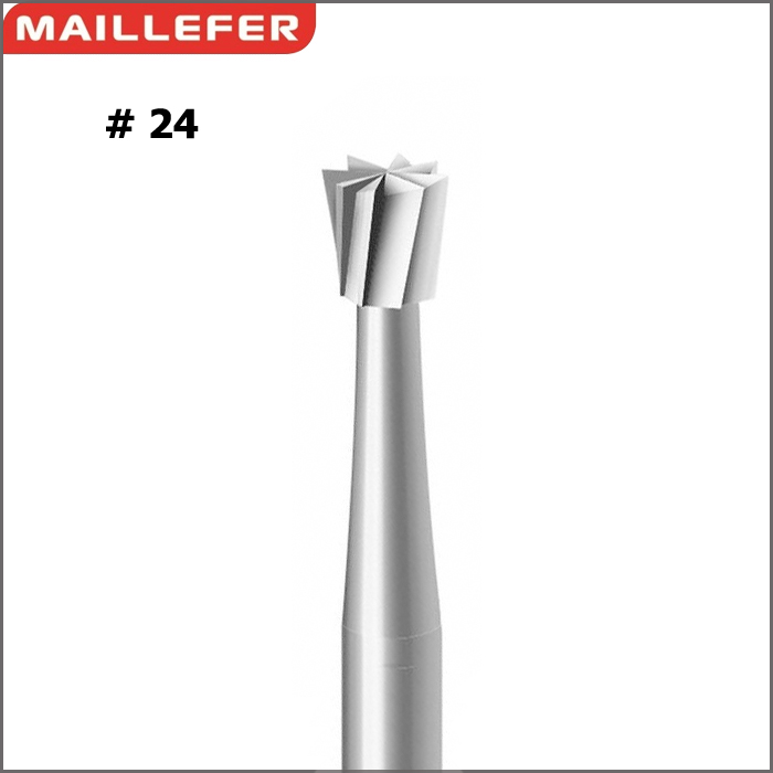 Inverted cone BUR ( #24 )  SIZE:006-029 SWISS  MAILLERFER