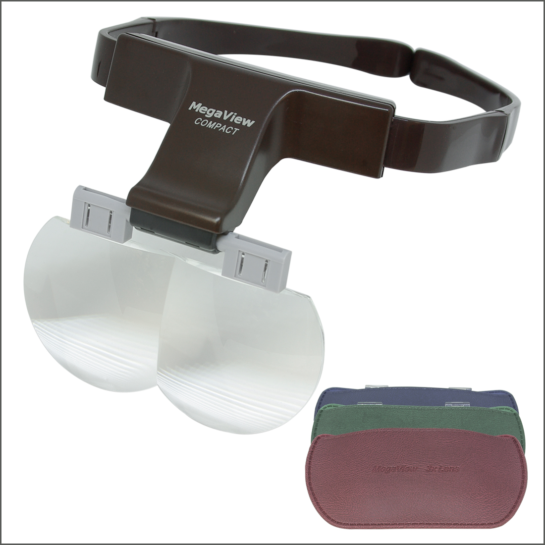 MegaView Magnifier Headset with Three Lenses
