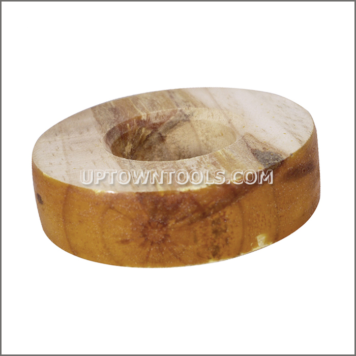 ROUND WOOD WITH SHELLAC 5 inch