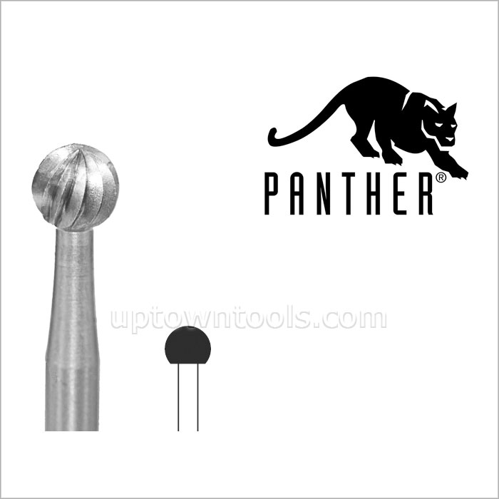GERMANY BUR Panther Bur, Round, Fig. 1, Size 055-100