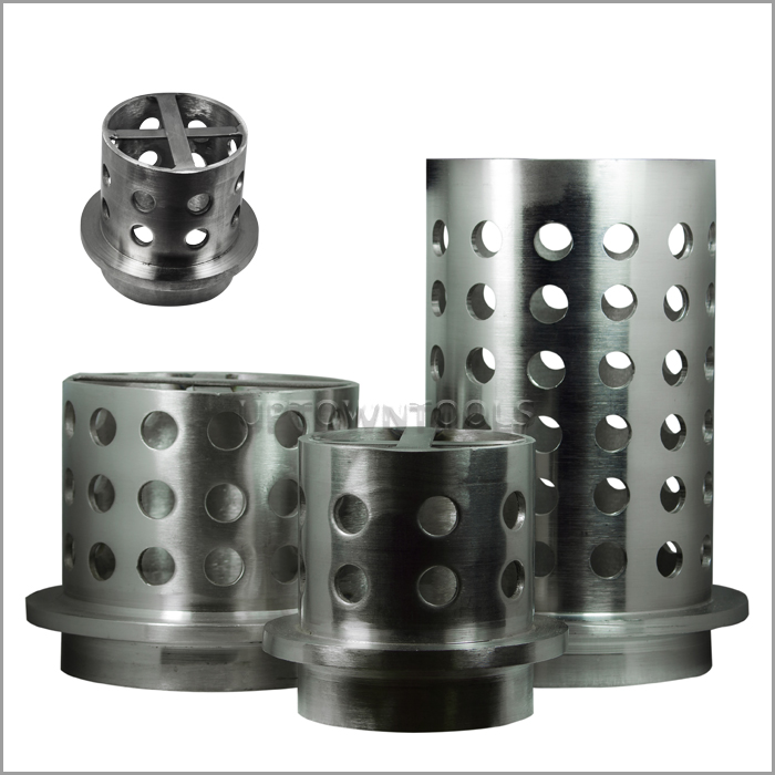 PERFORATED FLASKS WALL