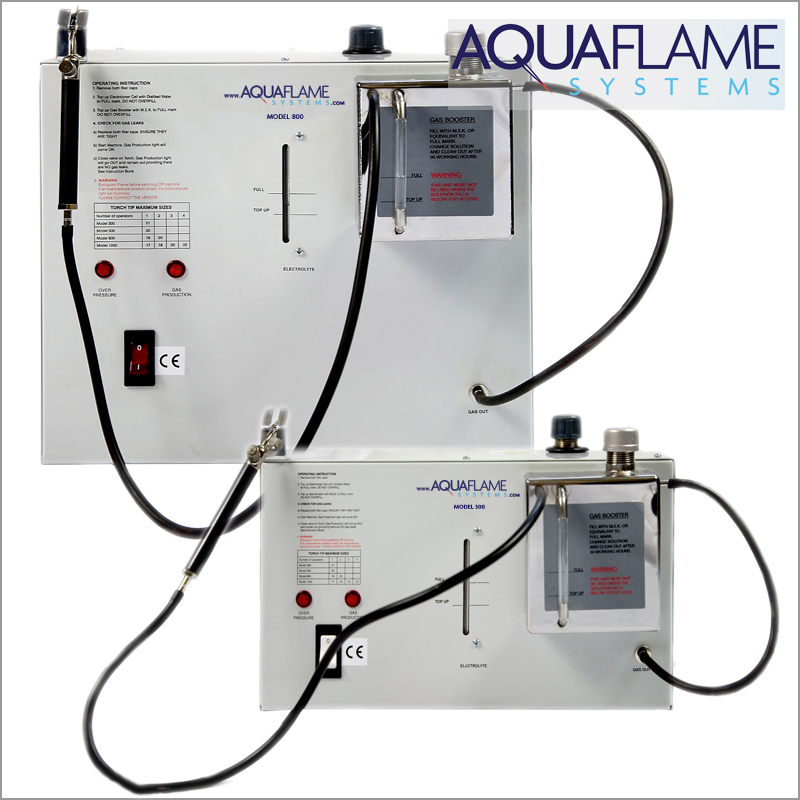 aquaflame system Model 500 / 800
