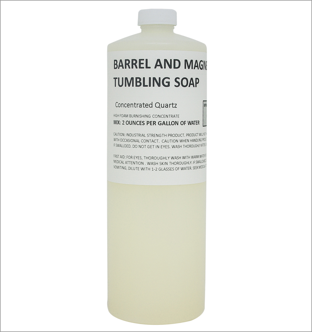 barrel and magnetic tumbling soap CONCENTRATE