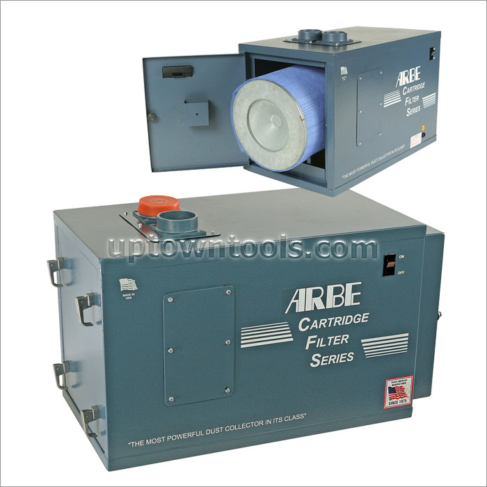 ARBE 2 STATION CARTRIDGE FILTER DUST COLLECTOR 110V/60Hz/1Ph CFS 4