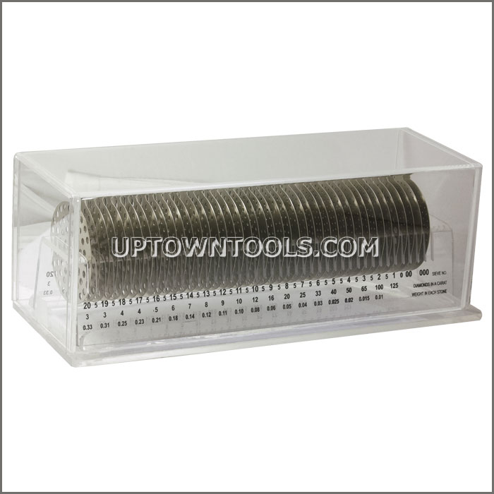 PLASTIC SIEVE HOLDER BOX