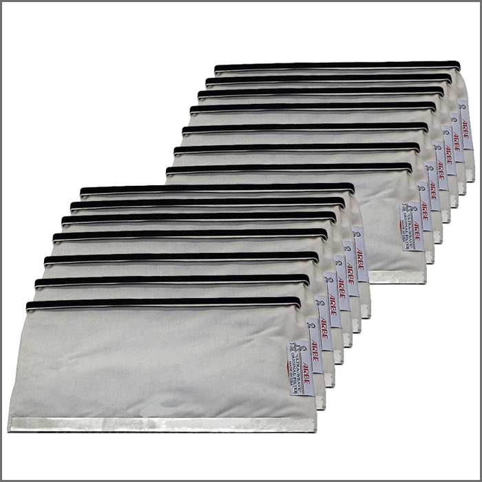 FILTER BAGS (1/2 HP) DUST COLLECTOR 12 W X 4-1/2 H (SET OF 14)