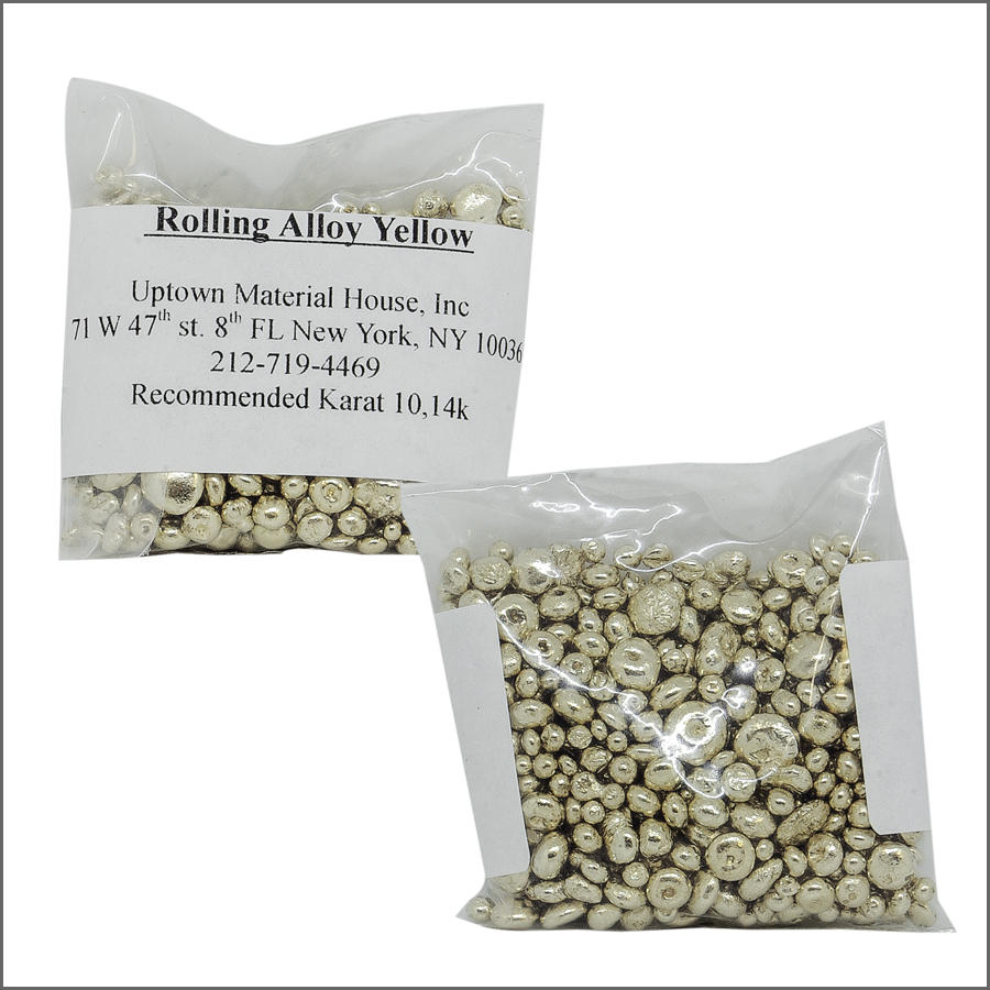 rolling alloy Yellow / 3oz